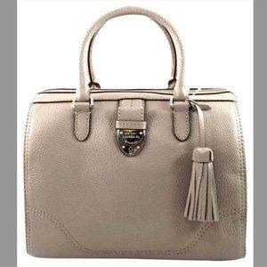 Ralph Lauren Bevington Barrel Satchel Bag